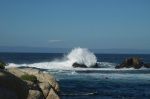 Waves Crash near Pacific Grove