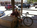 Chris in Old Sacramento